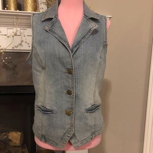 The Territory Ahead Jean Vest Size 6